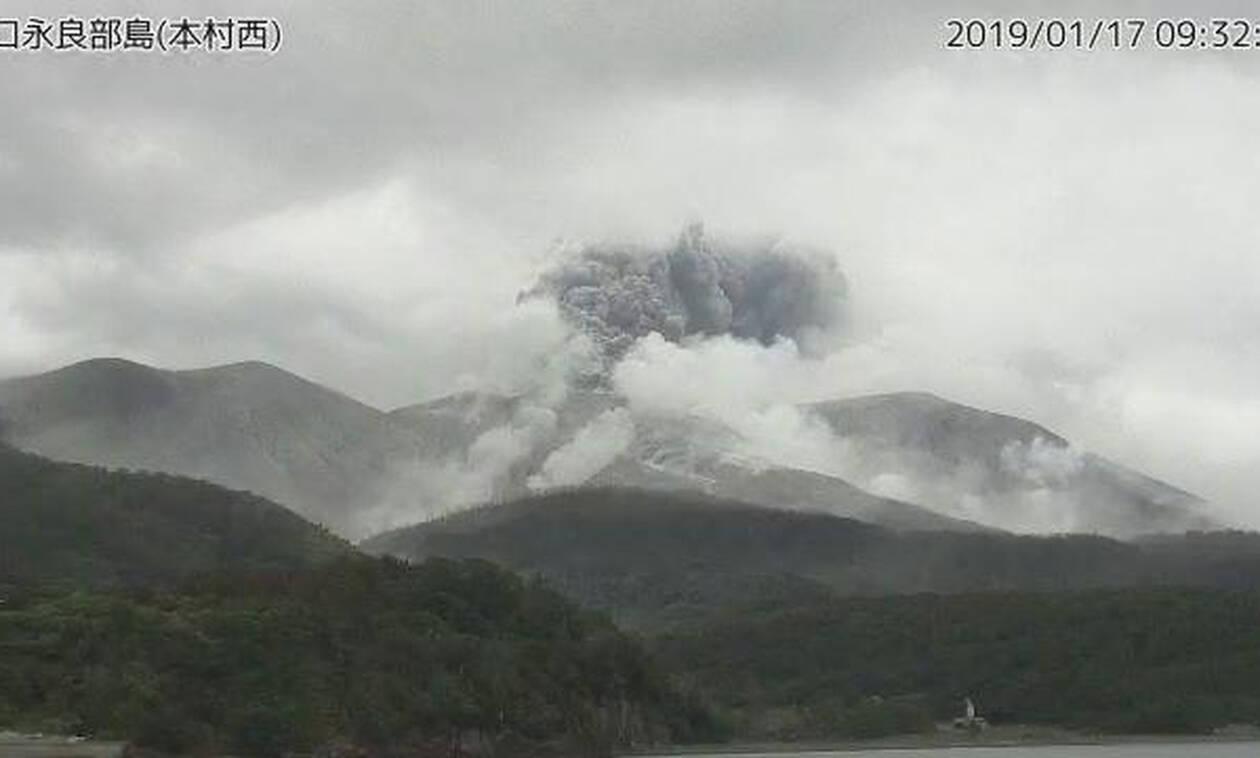 Ιαπωνία: Ηφαιστειακή έκρηξη σε μικρό νησί στο νοτιοδυτικό τμήμα του αρχιπελάγους