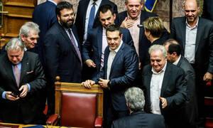Правительство Алексиса Ципраса получило вотум доверия парламента