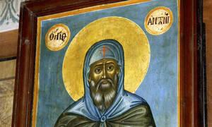 Άγιος Αντώνιος: Ποιος ήταν ο άγιος που γιορτάζει σήμερα