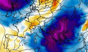 Σε κλοιό νέου χιονιά η Ελλάδα από τις 26 Γενάρη. Τι δείχνουν τα προγνωστικά μοντέλα (photos)