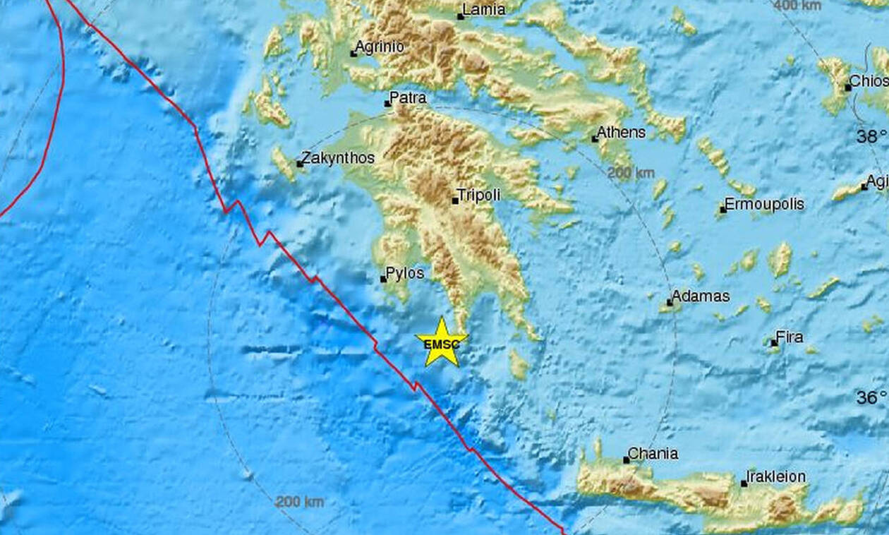 Light earthquake shakes the Peloponnese