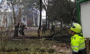 Ισχυρή έκρηξη στη σχολή της αστυνομίας στην Μπογοτά - Τουλάχιστον οχτώ νεκροί (Vid)