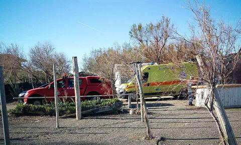 Μεσολόγγι: Εντοπίστηκε τμήμα του αεροσκάφος που έπεσε στο Μεσολόγγι
