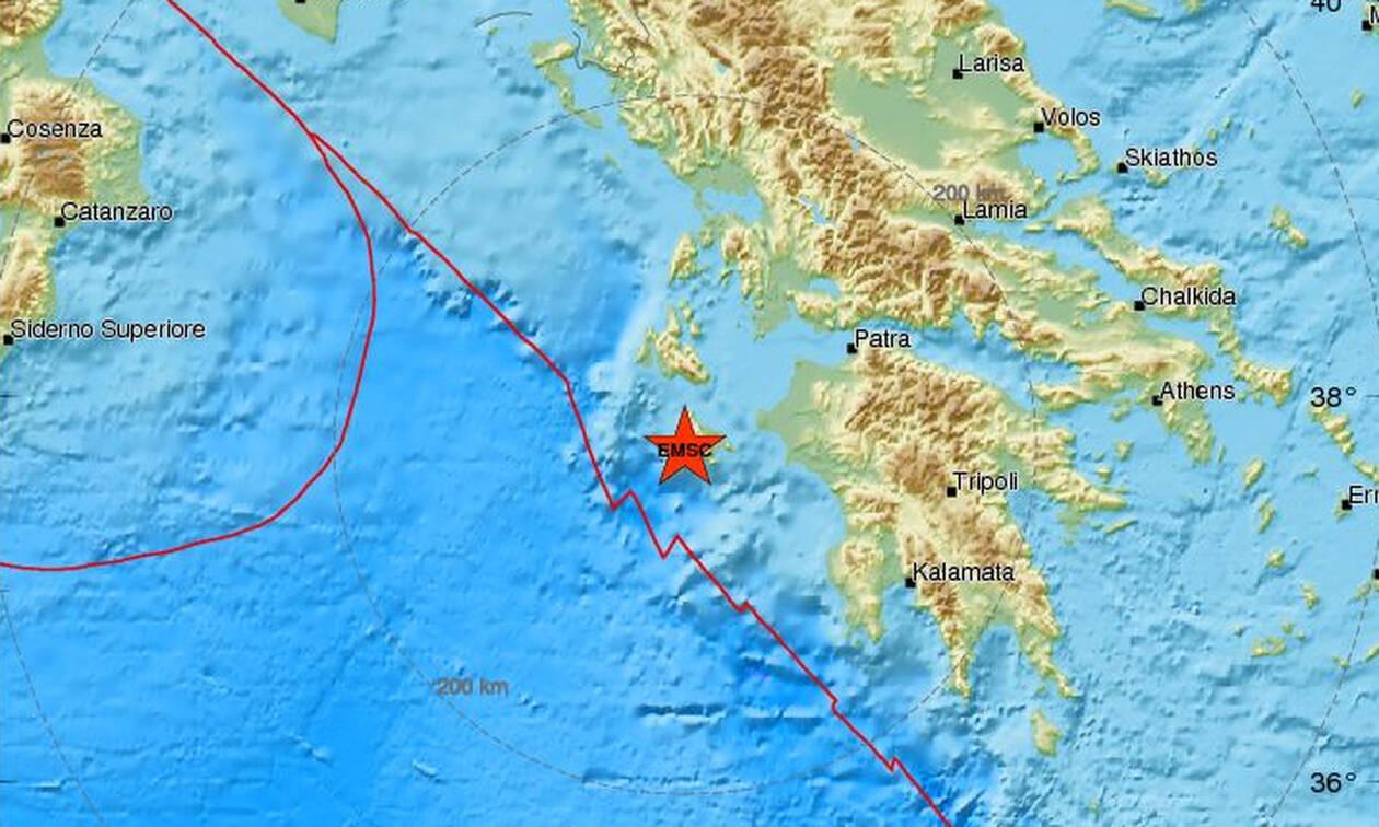 Σεισμός: Ισχυρός μετασεισμός κοντά στη Ζάκυνθο - Αισθητός στο νησί (pics)