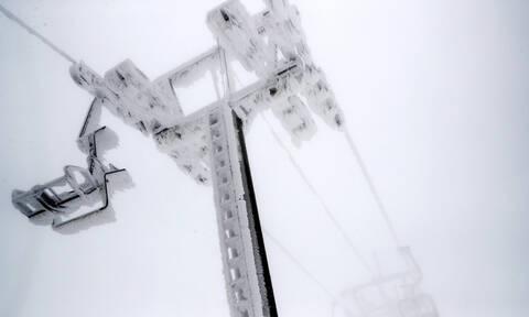 Όταν το χιόνι «ζωγραφίζει» στον φωτογραφικό φακό
