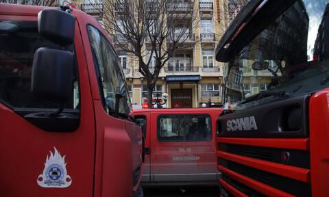 Πυρκαγιά σε ξενοδοχείο στο κέντρο της Αθήνας