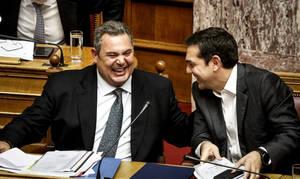 Δημοσκόπηση Newsbomb.gr και Prorata: Στημένο το διαζύγιο Τσίπρα - Καμμένου πιστεύει το 69%