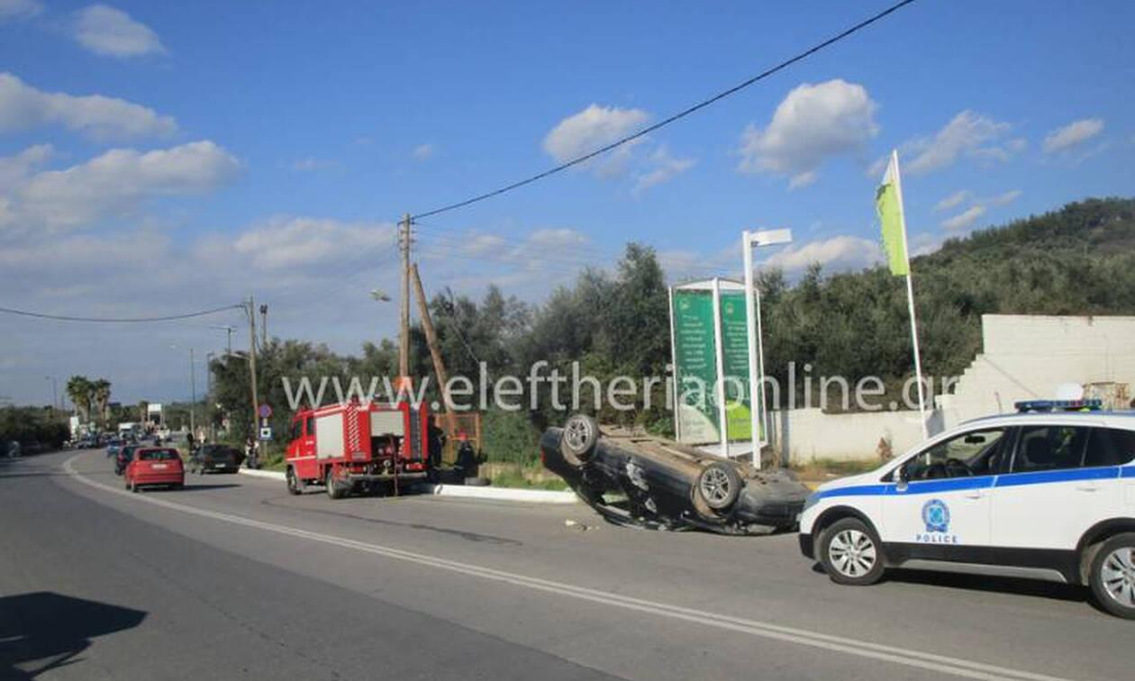 Τραγωδία στη Μεσσηνία: Νεκρός μαθητής που παρασύρθηκε από αυτοκίνητο (pics)