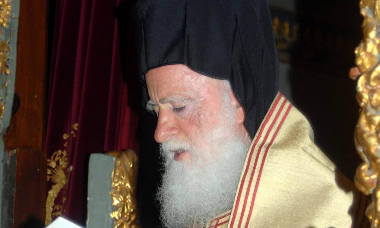 Πένθος για τον Αρχιεπίσκοπο Κρήτης