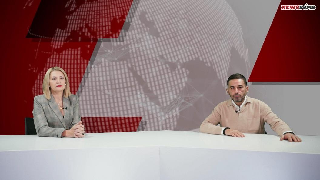 H δικηγόρος Αριάδνη Νούκα στο στούντιο του Newsbomb.gr