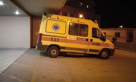Απίστευτο περιστατικό στα Τρίκαλα: Κυνηγητό... στο νοσοκομείο με μεθυσμένο ασθενή