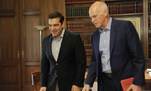 «Λαγός» του Τσίπρα ο Παπανδρέου: Παρέμβαση υπέρ της Συμφωνίας των Πρεσπών