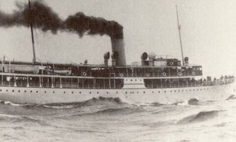 «Ο Τιτανικός της Ελλάδας»: Σαν σήμερα βυθίζεται το ατμόπλοιο «Χειμάρρα» στο Νότιο Ευβοϊκό