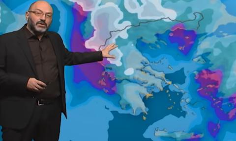 Προσοχή! Σε τροχιά συνεχόμενων κακοκαιριών η Ελλάδα. Η προειδοποίηση του Σάκη Αρναούτογλου (Video)