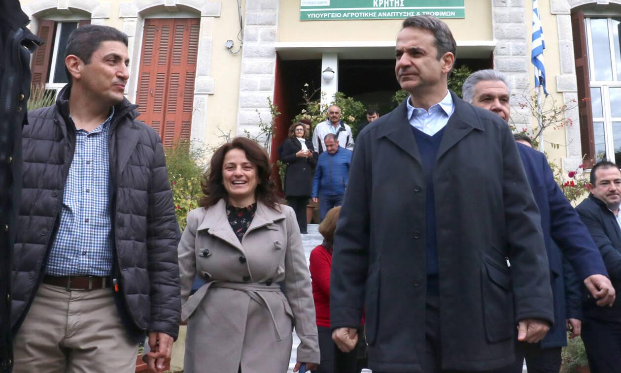 Μητσοτάκης από Κρήτη: Θα βρεθούμε απέναντι στη Συμφωνία των Πρεσπών