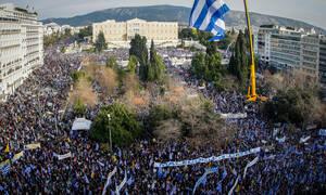 Λαϊκός ξεσηκωμός για τη Μακεδονία: Περισσότεροι από 200.000 από τη Β. Ελλάδα στο συλλαλητήριο