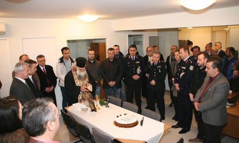 Αγιασμός και κοπή πρωτοχρονιάτικης πίτας στα νέα γραφεία της Ένωσης Αστυνομικών Υπαλλήλων Αθηνών