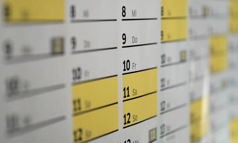 Αργίες 2019: Πότε «πέφτουν» φέτος Πάσχα και Καθαρά Δευτέρα - Αυτά είναι τα τριήμερα