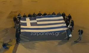 Με το «Μακεδονία ξακουστή» αναχώρησαν από τα Χανιά με το πλοίο για το συλλαλητήριο στην Αθήνα (vid)