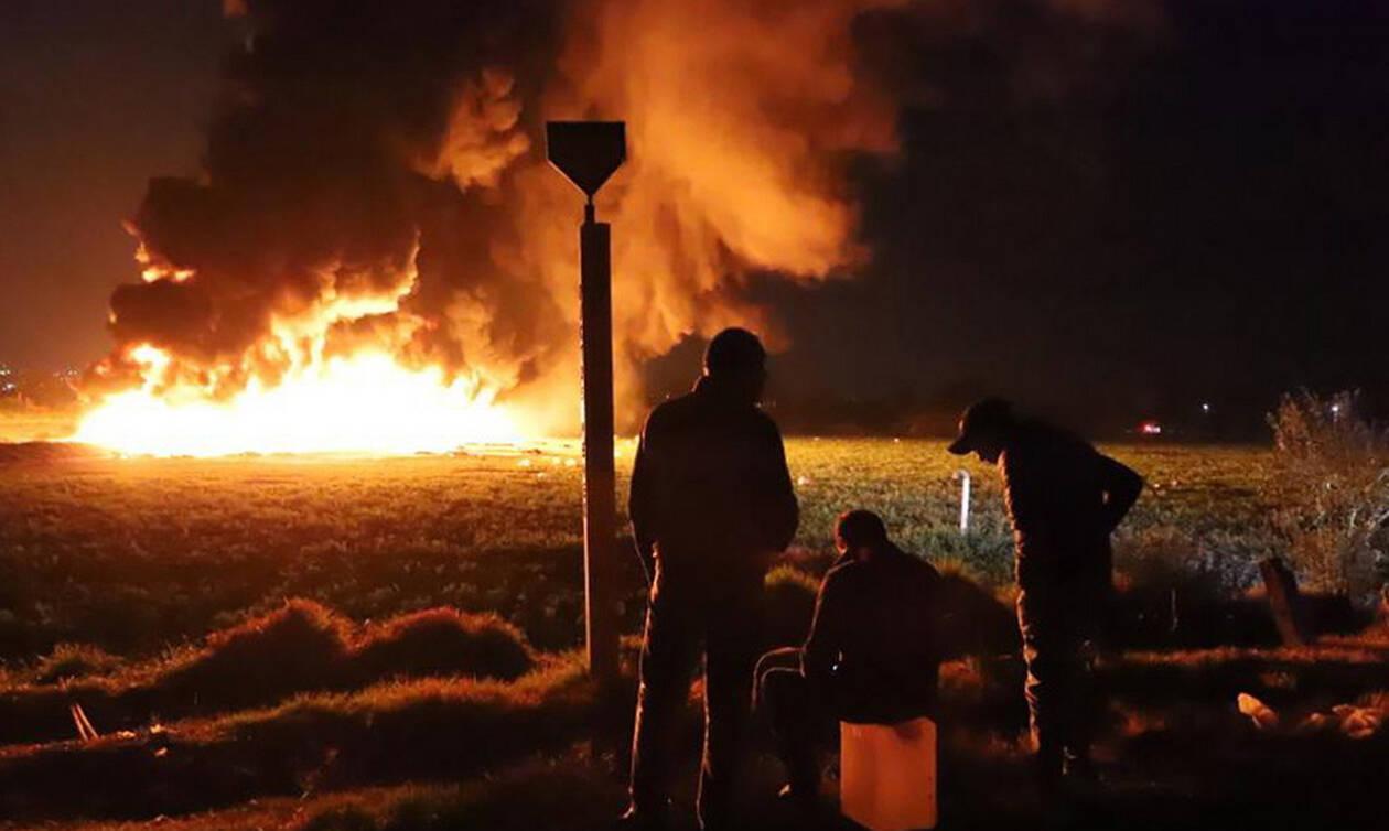 Μεξικό: Ανείπωτη η τραγωδία - Ξεπέρασαν τους 70 οι νεκροί από την έκρηξη στον αγωγό πετρελαίου (vid)