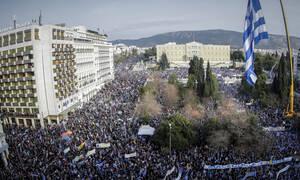 Συλλαλητήριο: Όλοι οι Έλληνες «δίνουμε μάχη» για τη Μακεδονία στο Σύνταγμα