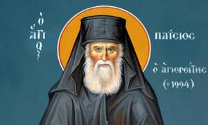 Τι γράφει η πλάκα στον τάφο του Αγίου Παϊσίου