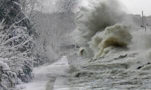 Καιρός: Εβδομάδα γεμάτη καταιγίδες και χιόνια στα ορεινά. Ο καιρός μέχρι την Παρασκευή...