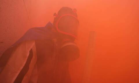 Live Blog: Ένταση και χημικά στο Σύνταγμα τώρα