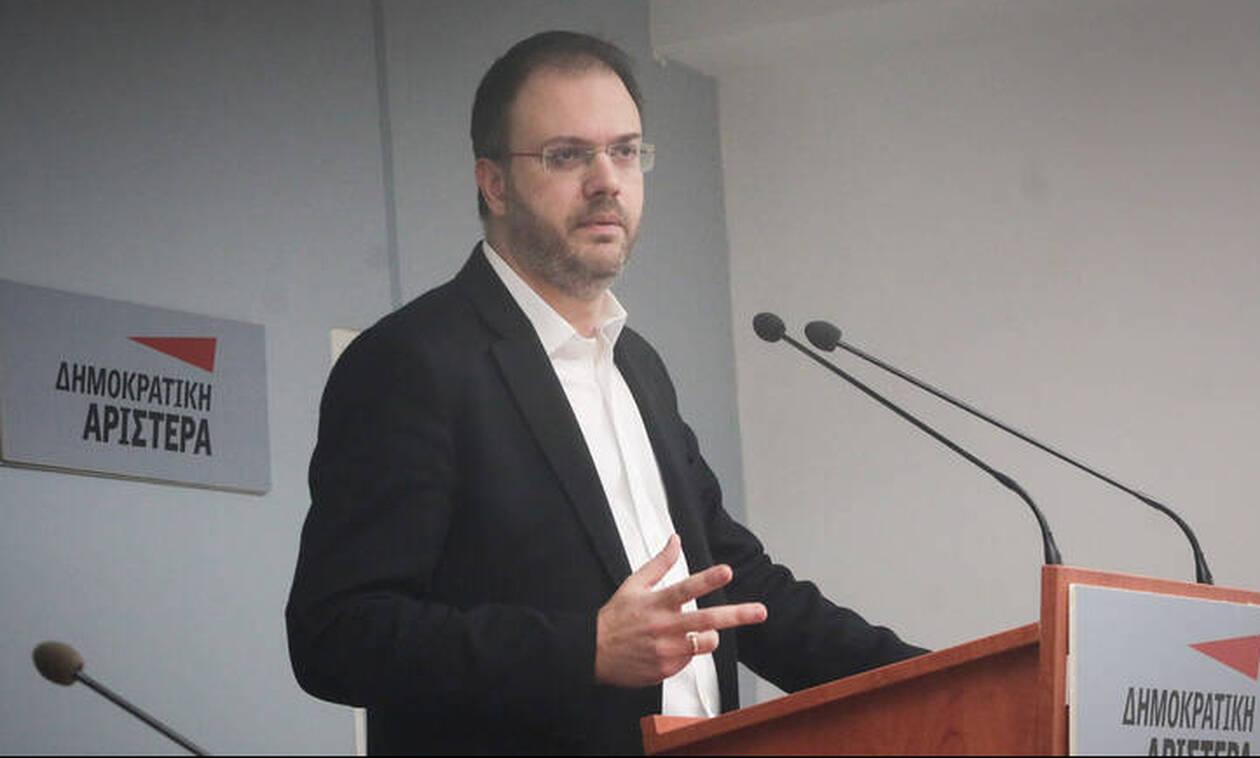 Θεοχαρόπουλος: Πατριωτικό καθήκον η ψήφιση της Συμφωνίας των Πρεσπών