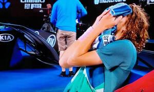 Στέφανος Τσιτσιπάς: Τι έκανε αμέσως μετά τη νίκη του επί του Ρότζερ Φέντερερ (video)