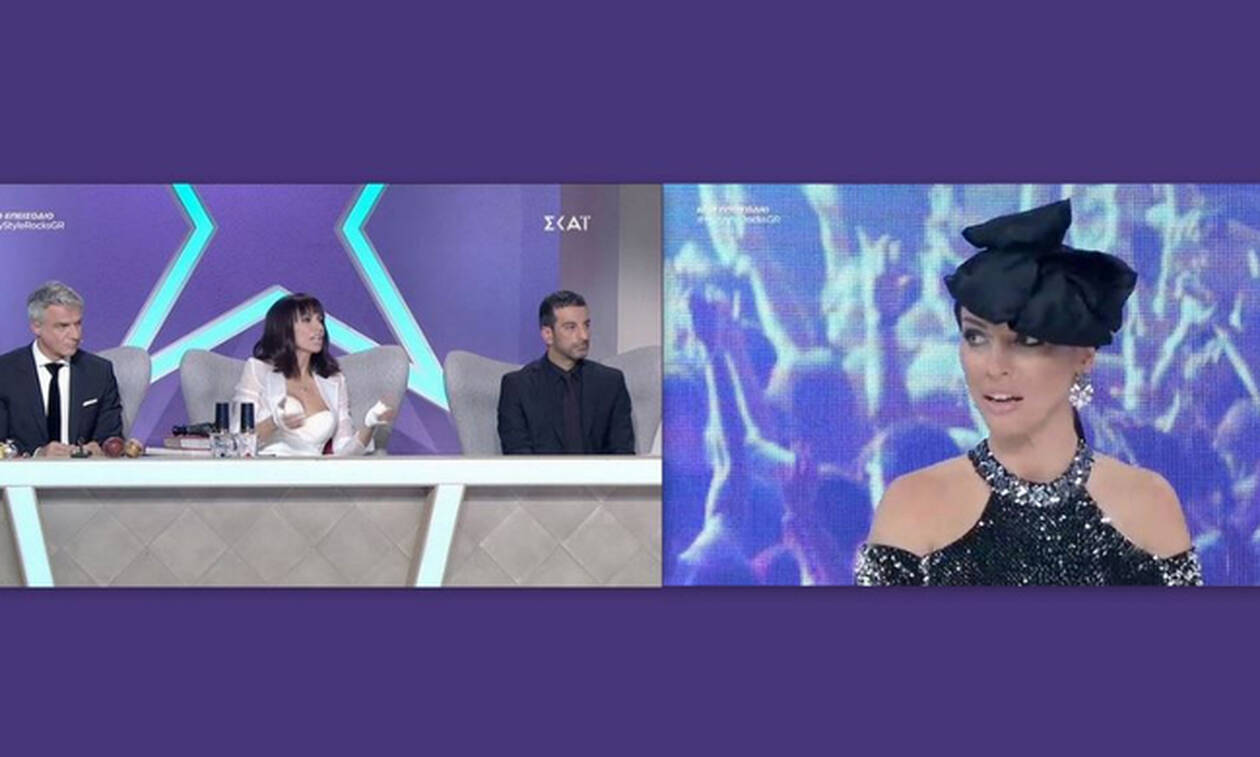 My style rocks Gala: Η Εύα Μπάση εξαγρίωσε τους κριτές! Έξαλλη η Μαγγίρα!