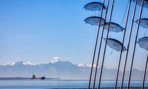 Καιρός ΤΩΡΑ: Αυτό είναι το φαινόμενο που έχει «σκεπάσει» τη Θεσσαλονίκη