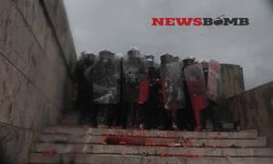 В Афинах акция протеста против Преспанского соглашения переросла в массовые беспорядки