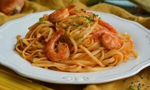Η συνταγή της ημέρας: Γαριδομακαρονάδα με λιγκουίνι