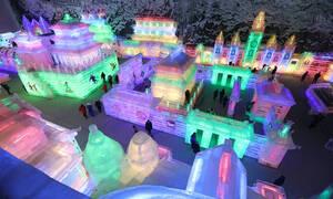 Γνωρίστε το εντυπωσιακό φεστιβάλ… πάγου της Κίνας (vid)