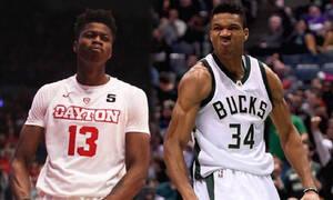 NBA: Μαζί στο ζέσταμα οι Κώστας και Γιάννης Αντετοκούνμπο (video)