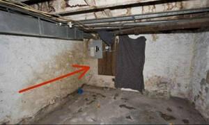 Ανακαίνιζαν το σπίτι τους... Όταν είδαν τι βρίσκεται πίσω από τον τοίχο πάγωσαν (photos)