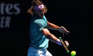 Стефанос Циципас стал первым полуфиналистом Australian Open