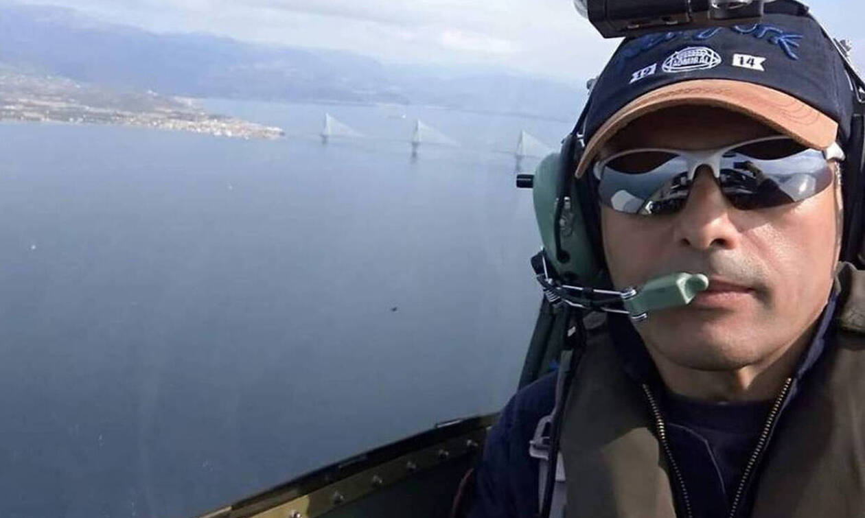 Θρήνος στην κηδεία του πιλότου Παναγιώτη Κεφάλα (pics)