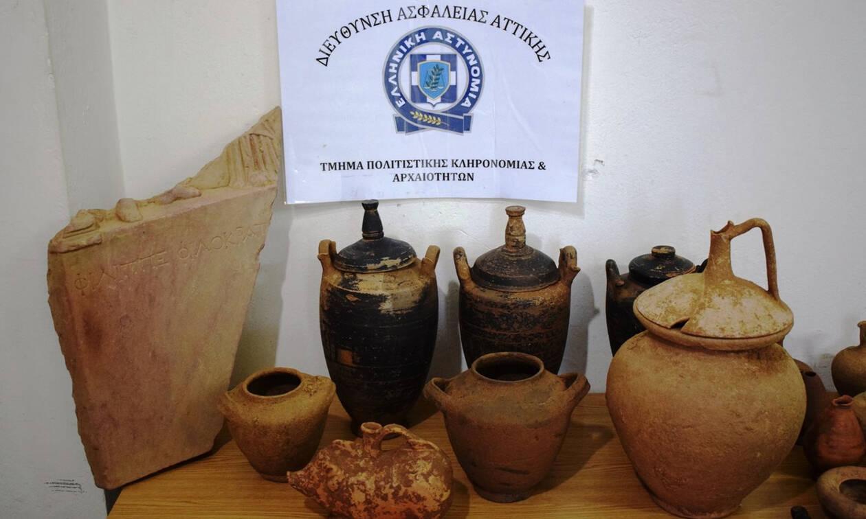Συνελήφθη αρχαιοκάπηλος στη Λακωνία - Θα πουλούσε σπάνιο αρχαίο θησαυρό για 600.000 ευρώ (pics)