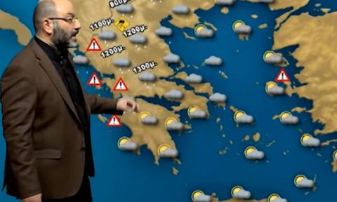 Καιρός: Θέλει προσοχή τις επόμενες μέρες! Η νέα προειδοποίηση του Σάκη Αρναούτογλου (video)