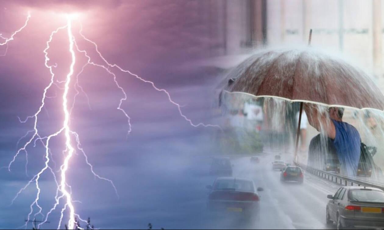 Νέα επιδείνωση του καιρού από το βράδυ. Μέχρι τη Δευτέρα θα διατηρηθεί η κακοκαιρία... (Video)