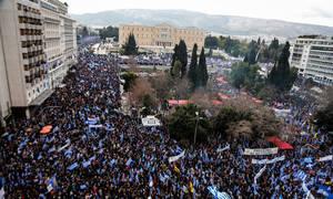 Συμφωνία των Πρεσπών: Νέο συλλαλητήριο για τη Μακεδονία στο Σύνταγμα