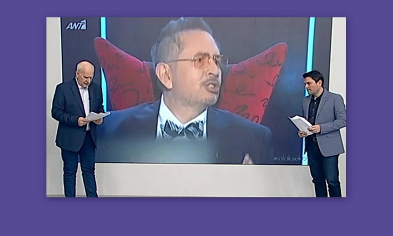 Γιώργος Παπαδάκης: Η συγκίνηση και το «αντίο» στον Θέμο Αναστασιάδη!