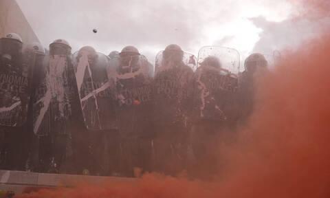 ΕΛ.ΑΣ: «Πλέον ενδεδειγμένη» η επιχειρησιακή ανταπόκριση στα επεισόδια του συλλαλητηρίου