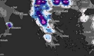 Καιρός: Ερχεται με... χιόνια ο Φλεβάρης! Τι δείχνουν σήμερα τα προγνωστικά καιρικά μοντέλα (photos)