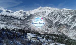 Το βραβευμένο ελληνικό νερό που ταξιδεύει μές στα χιόνια για να φτάσει σε όλο τον κόσμο!