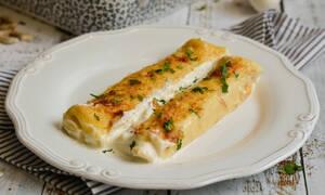 Η συνταγή της ημέρας: Αλμυρές κρέπες στο φούρνο