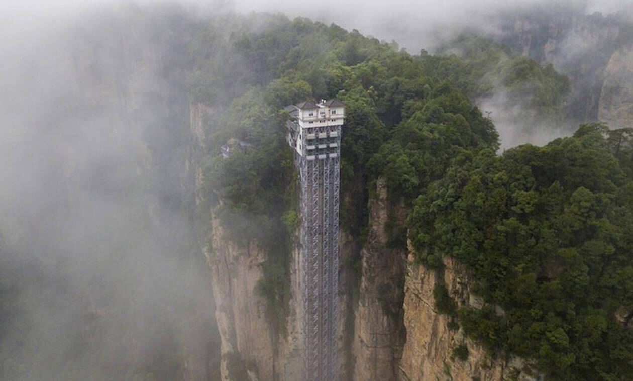 Δέος! Αυτός είναι ο μεγαλύτερος ανελκυστήρας στον κόσμο! (pics)