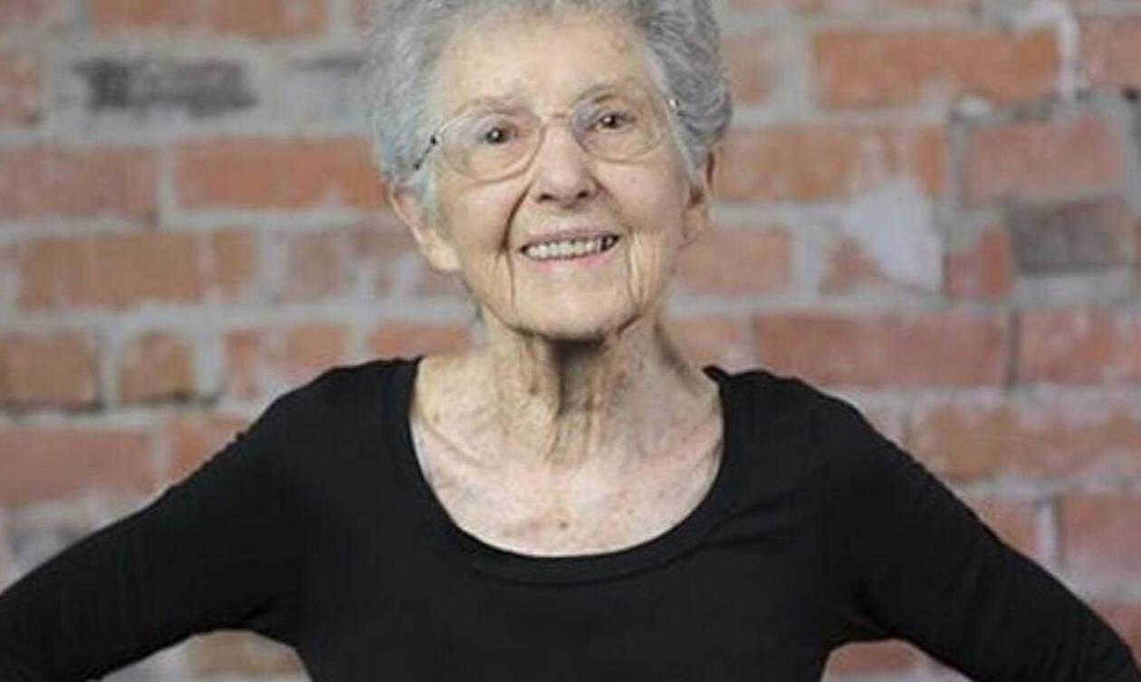 «Σούπερ» γιαγιά ετών 72 - Δες τι κάνει (video)